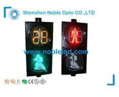 Pedestrian light with countdown  Dynamic pedestrian 1