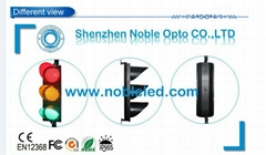 Roadways Traffic Directional Used 300mm Led Traffic Signal  With Clear Lens