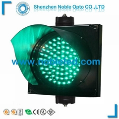 Roadway Safety Used 200mm Green Traffic Light  With Traffic Light On Sale