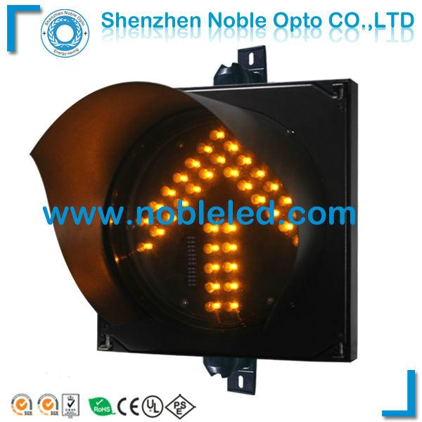 200m Led Arrow Traffic light Yellow Flashing Warning Light Arrow 1