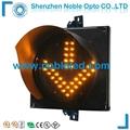 200m Led Arrow Traffic light Yellow Flashing Warning Light Arrow 2