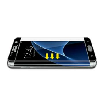 0.26mm 3D Curved Full Cover Tempered Glass Screen Protector For  Galaxy S7 Edge 3