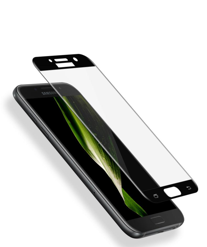0.33mm 3D curved tempered glass screen protector for Samsung galaxy A5 2017 4