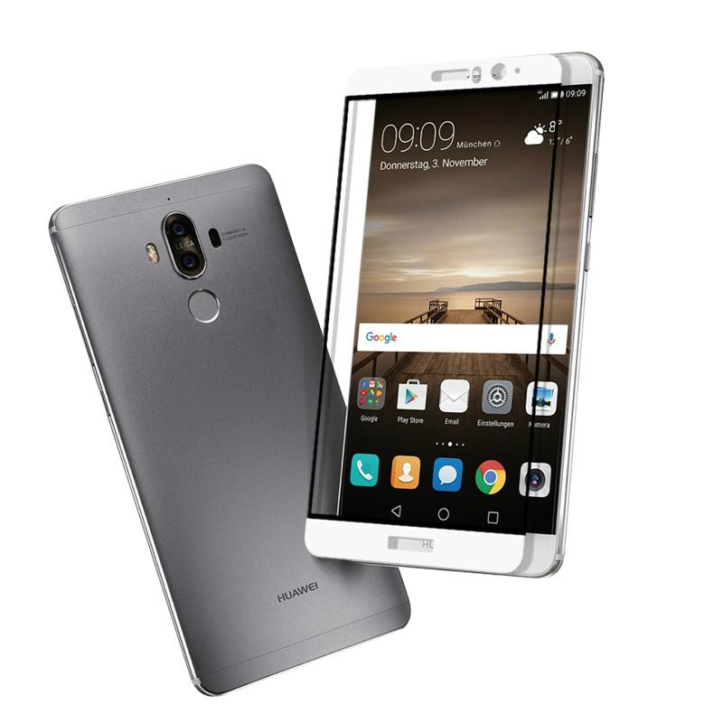 0.33mm 2.5D Full Cover Tempered Glass Screen Protector For Huawei Mate 9 4