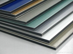 Aluwedo Exterior Building Fireproof Composite Panel ACP Sheets