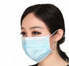 Non woven Disposable face mask with earloop