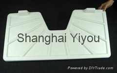 5mm White and Gray HDPE Lighthouse Manufacturer-Shanghai Yiyou in C