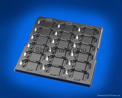 Electronic components plastic tray from Shanghai YiYou