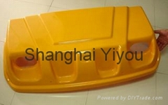 Yellow Automobile Plastic Tray from Shanghai YiYou