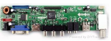 Cheapest VGA+HDMI+AV+  DS+Ypbpr+USB 1920x1200 resolution Lcd controller board  1