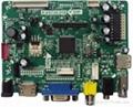 Cheapest VGA+HDMI+AV+  DS+Ypbpr+USB 1920x1200 resolution Lcd controller board  2