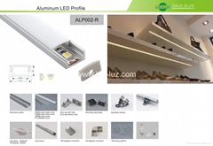 Hot super slim aluminum LED profiles for 8mm or 10mm LED tapes