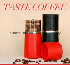 customized design manual coffee mill /grinder