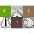 ntique arabic stainless steel coffee pot