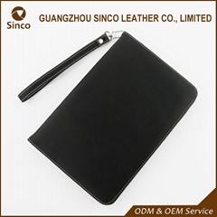 Custom logo leather flip