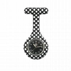 廠家批發 2017時尚熱銷硅膠護士手錶