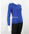 Ladies Light Weight Formal Fine Knit Sweater 2