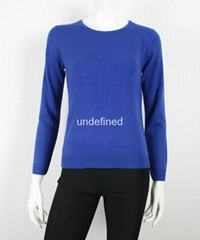 Ladies Light Weight Formal Fine Knit Sweater