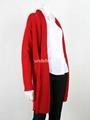 Wholesale Colorful Women Long Cardigan Sweater 3