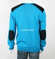 New Design Men Knitted 100% Cotton Sweater 2