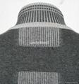 Light Weight Full Zip Grey Knit Cardigan For Men 4