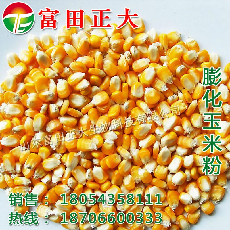 Expanded corn flour 3