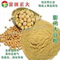 Expanded soybean flour