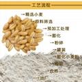 Puffed corn flour food grade 6