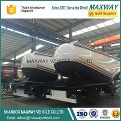 Maxway 2axle 3 axle 4axle cement tanker truck semi trailer