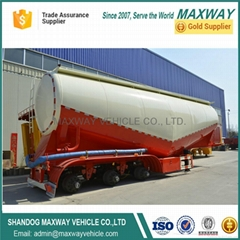 Hot sale high quality 2axle 3axle Bulker Cement tank semi Trailer Truck