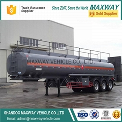 China High Quality Steel  Fuel Oil Delivery Tanker Semi Truck Trailer Vehilce
