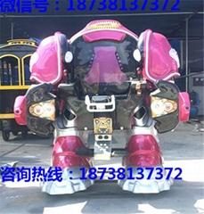 广场娱乐战火金刚机器人