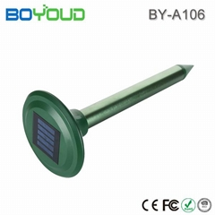 effective wild animal repellent solar mole snake repeller