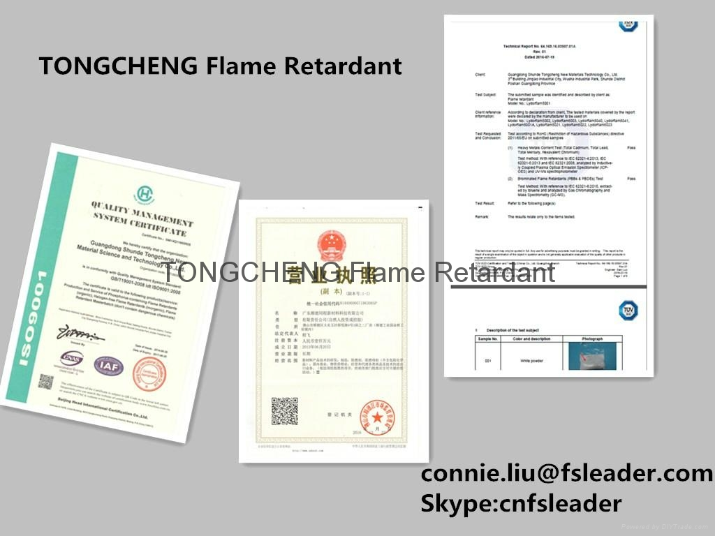 Flame Resistant Masterbatch used in the fields of Plastics and polymers 2