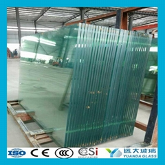 Tempered Laminated Glass with PVB EVA SGP Interlayer