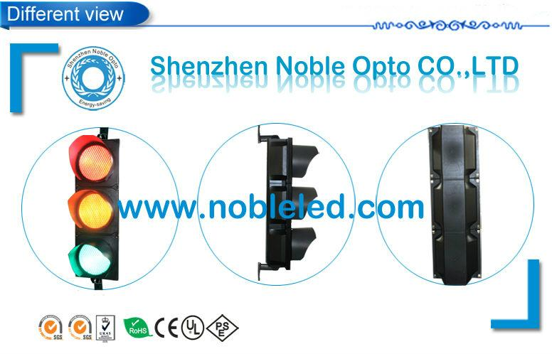 200mm 3 aspects led traffic signal  light with CE&ROHS certifited   1