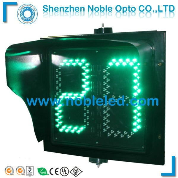 large display 400mm led traffic light countdown timer 1