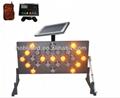 high quality solar led arrow board for