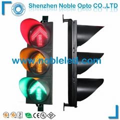300mm led solar powered arrow traffic signal light on sale