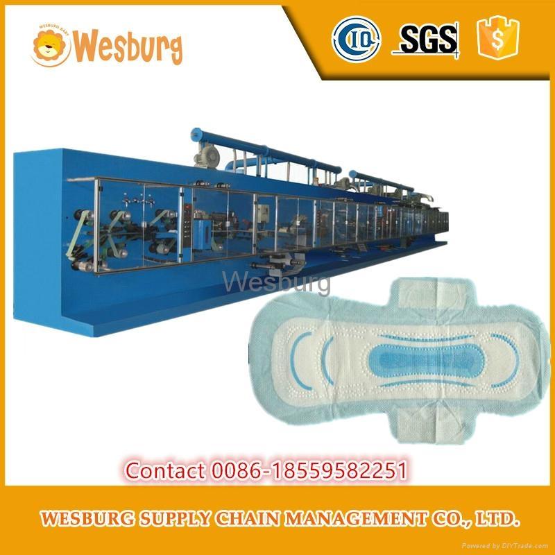 Sanitary pads making machine sanitary napkin machine 2