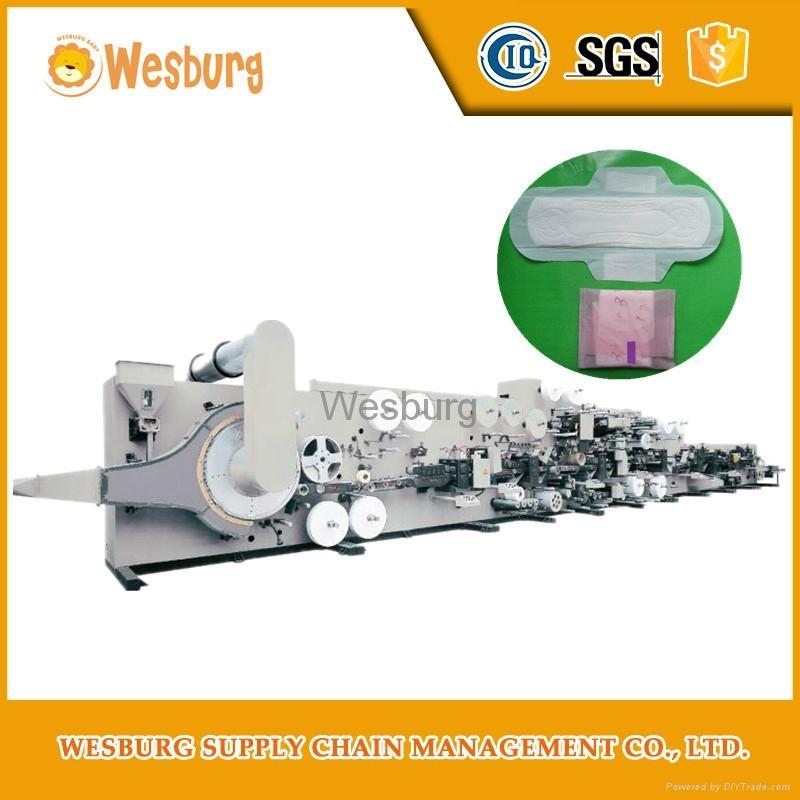 Sanitary pads making machine sanitary napkin machine 4