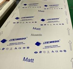 Sign Grade Aluminum Composite Panel Suitable for CNC Cutting Size