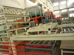 automatic magnesium oxide board machine