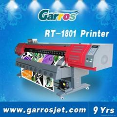 1.8m direct to fabric cloth flag printing dye sublimation printer machine