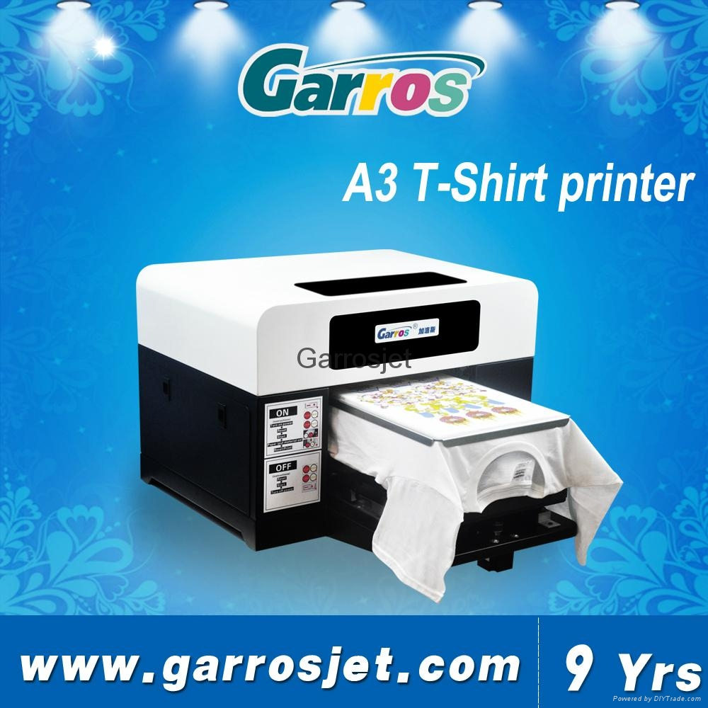 Garros Top Selling Garros A3 T Shirt Printing Machine