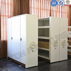High Quality Totally Enclosed Mobile Metal Storage Rack Shelf