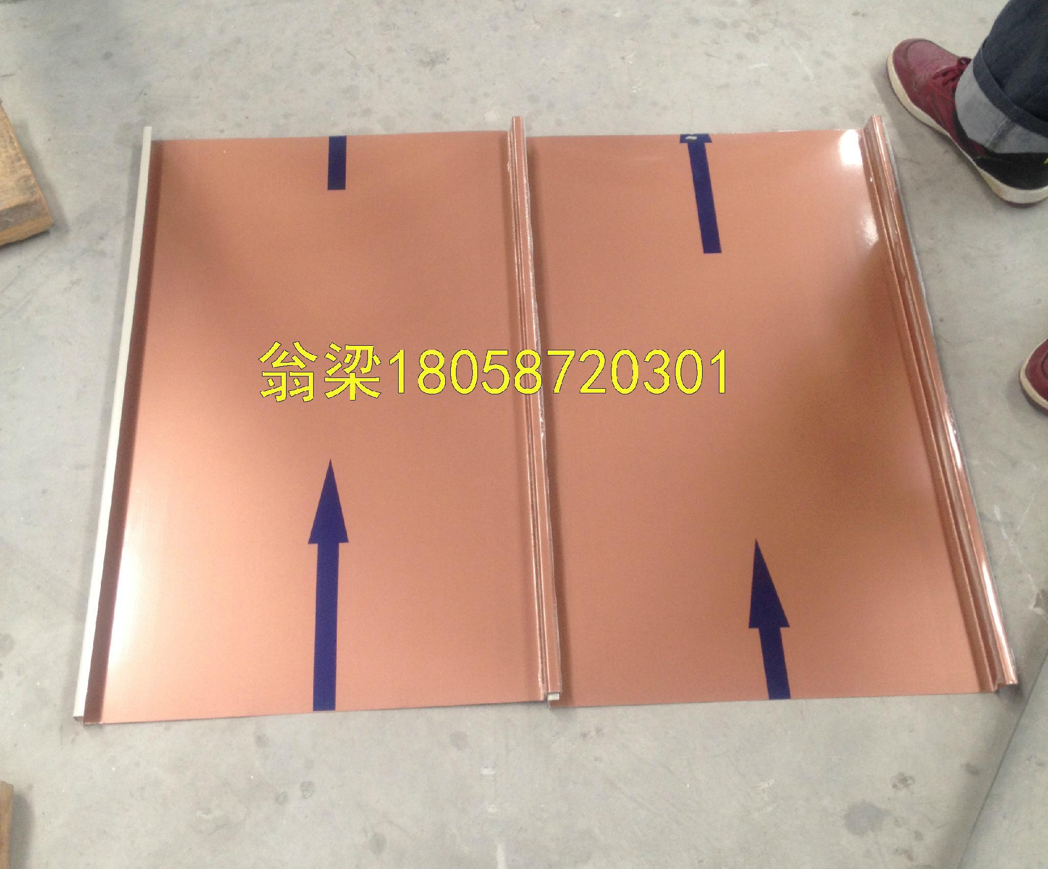 甘藍25-430直立雙鎖邊鋁鎂錳板 3