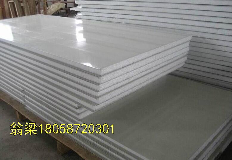 供應甘藍彩鋼泡沫夾芯板隔熱保溫板 3