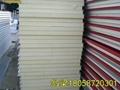 供应甘蓝彩钢聚氨酯夹芯板隔热保温板 3