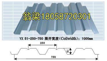 供應甘藍開口樓承板鋼承板鍍鋅板 1